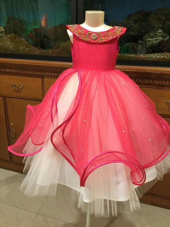 Best Girl S Party Wear Frocks And Dresses Designs For