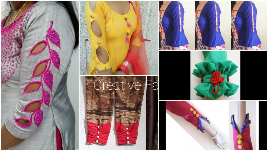 Latest sleeve designs to try with kurtis - Simple Craft Ideas 47d046cad99