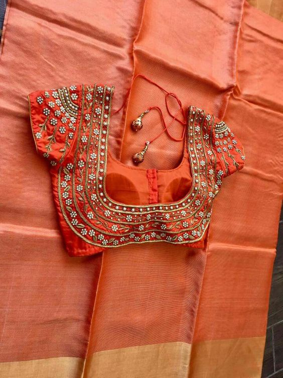 Latest Saree Blouse Designs For 2018 That Will Amaze You
