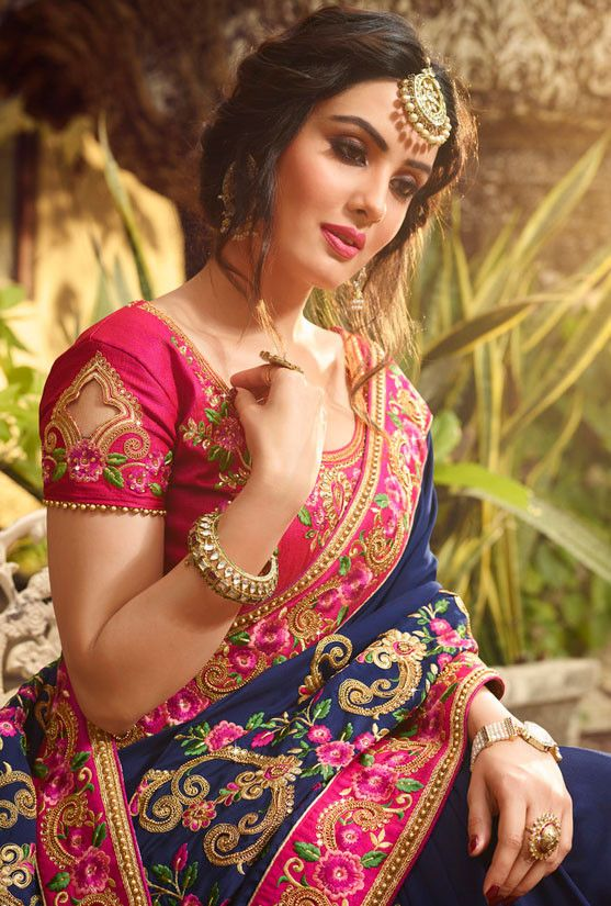 Trendy Silk Saree Blouse Designs Catalogue Simple Craft
