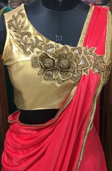 Trendy Silk Saree Blouse Designs Catalogue Simple Craft