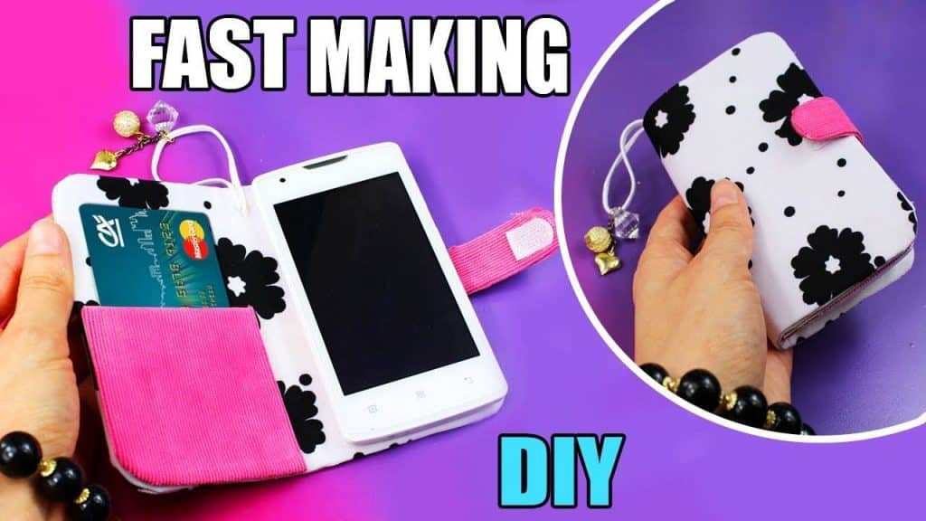 How to make a cute phone case really easy