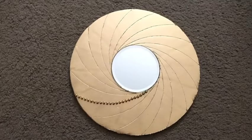 Swirl Mirror Wall Decor
