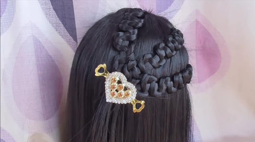 How To Easy Party Wear Hairstyles Simple Craft Ideas