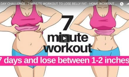 7 minute workout to lose belly fat