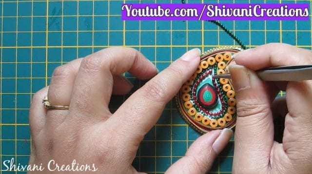 quilling necklace set