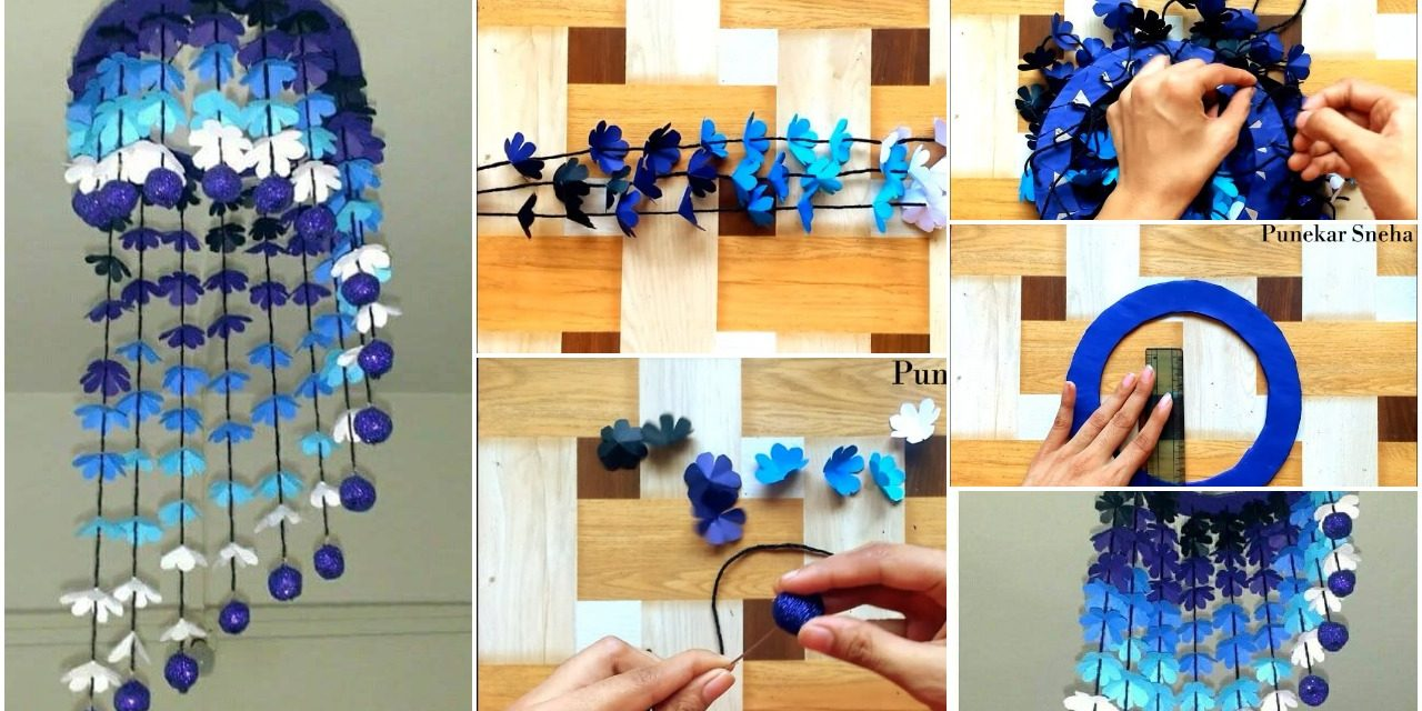 How to make wind chime from paper