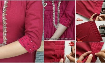 Very stylish sleeves designs making