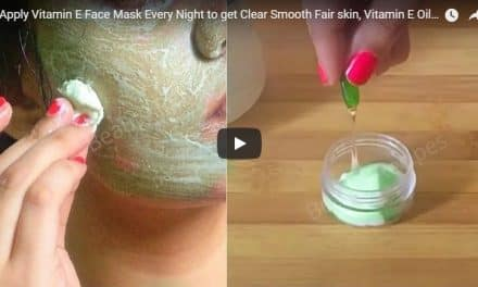 Apply vitamin E face mask every night to get clear smooth fair skin