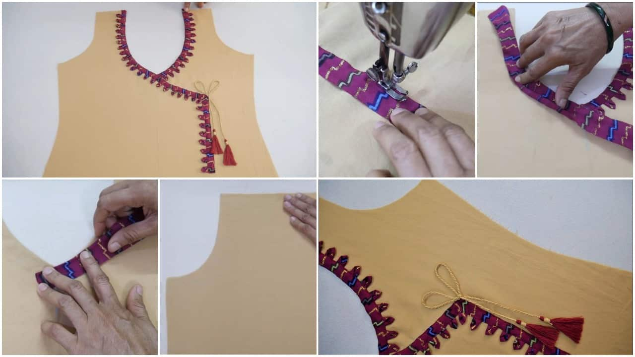 Latest stylish neck design