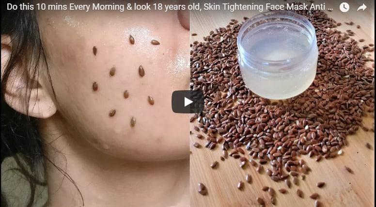 Skin tightening face mask