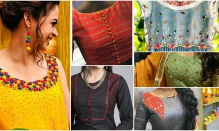 Latest ethnic designer kurta