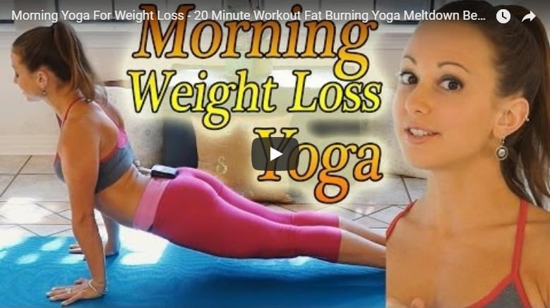 Morning yoga for weight loss