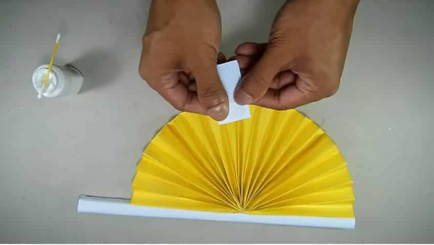 Hand Fan Simple Craft Ideas