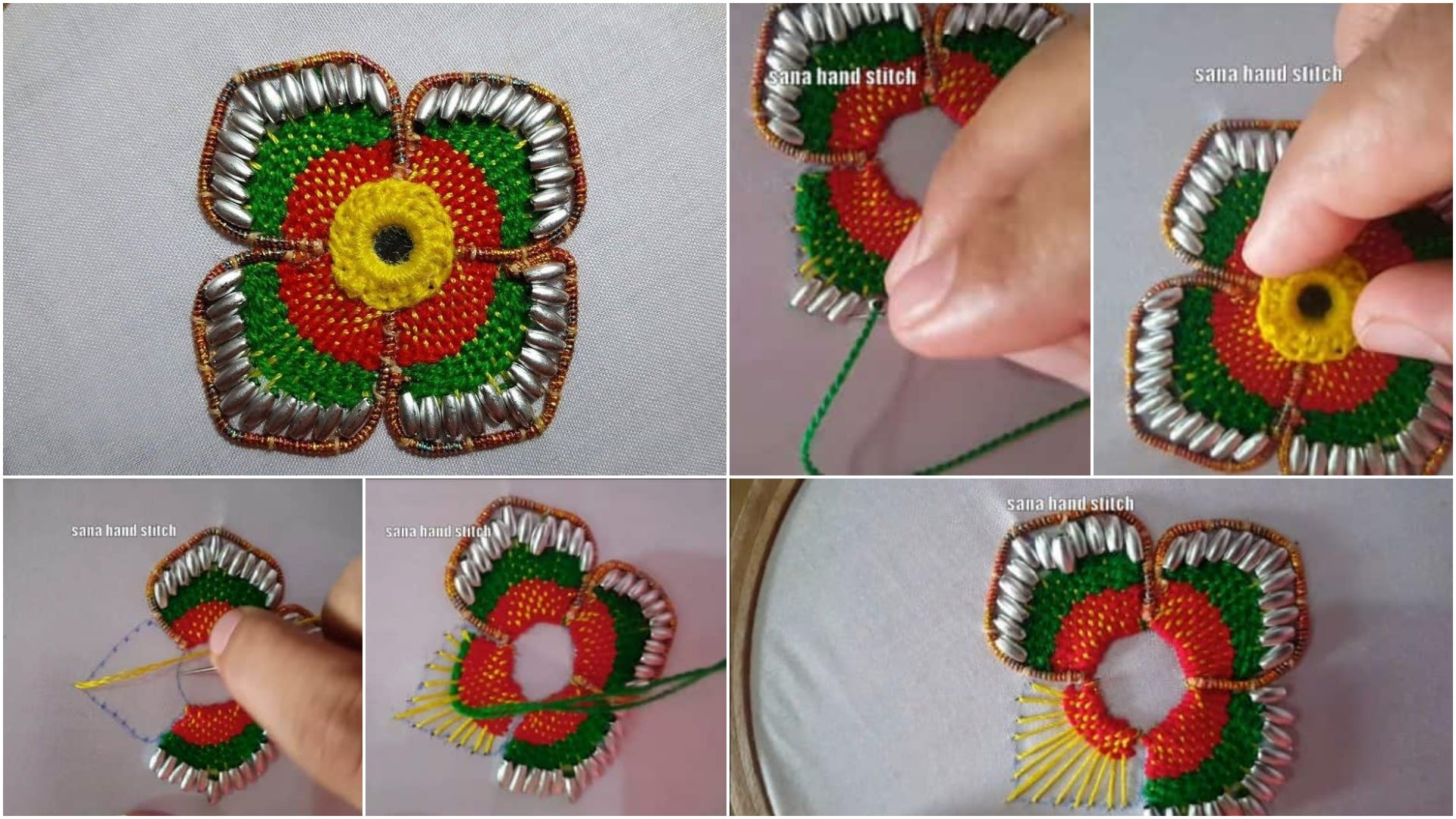 border flower stitch