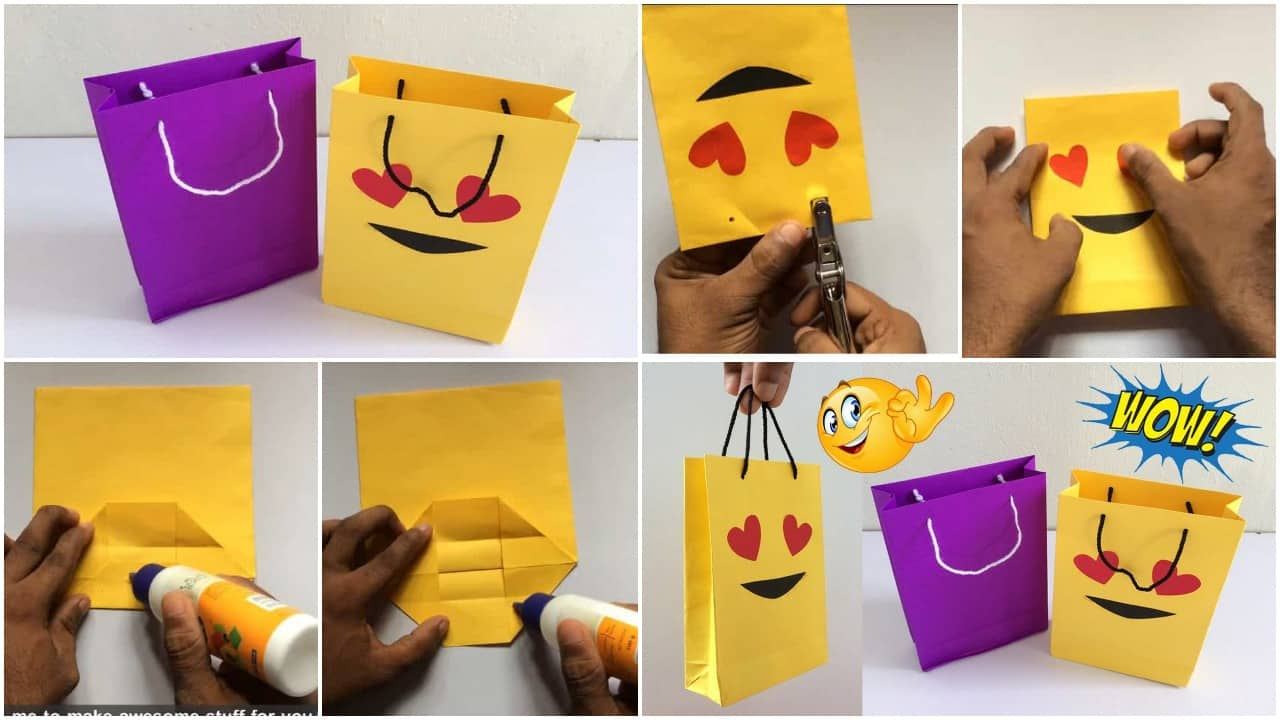 How To Make Paper Bag Simple Craft Ideas