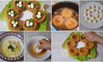 "Something different this ramadan ""Bird's Nest Snacks"""