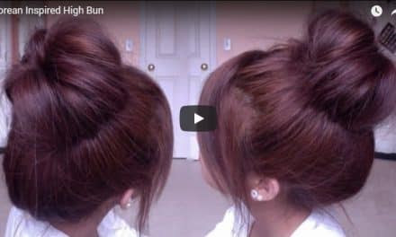 2 Minute easy summer updo