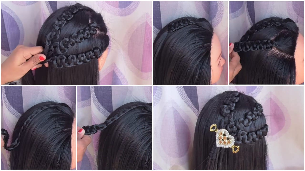Excellent How To Easy Party Wear Hairstyles Simple Craft Ideas Natural Hairstyles Runnerswayorg