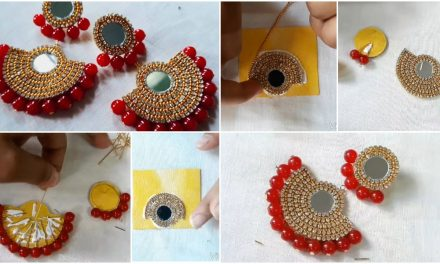 How to make a earrings