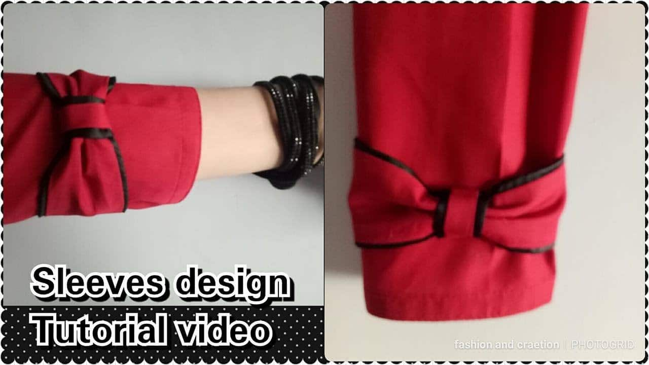 Image result for Very stylish 2 sleeves design making