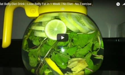 Flat belly diet drink-Lose belly fat in 1 week