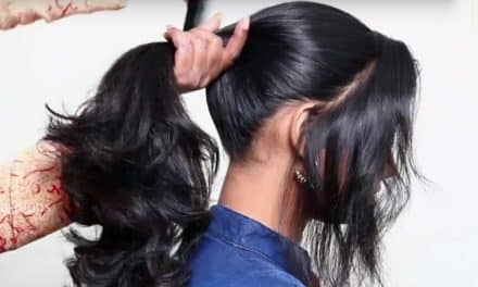 3 Different ponytail hairstyles for school girls