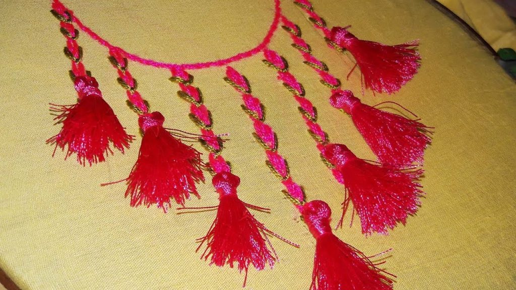 How To Make Tassel Decorated Kurti Simple Craft Ideas,Web Design South Florida