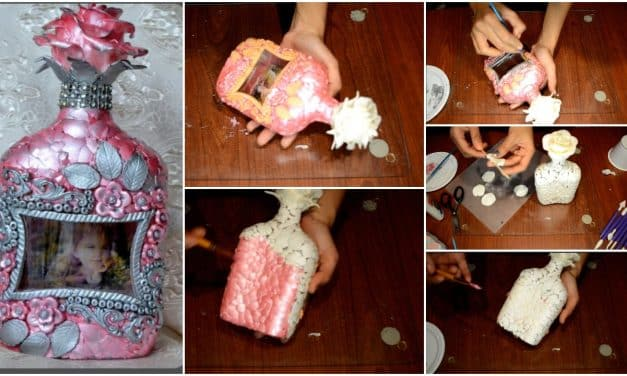 How to do bottle art with customized photo