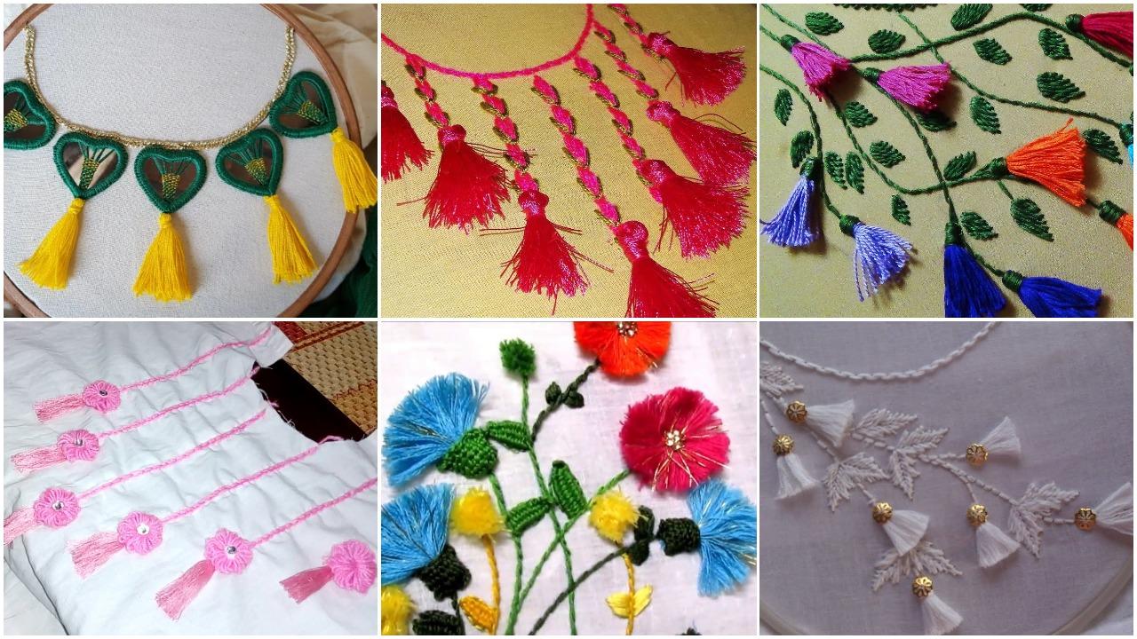 tassel decorated kurti