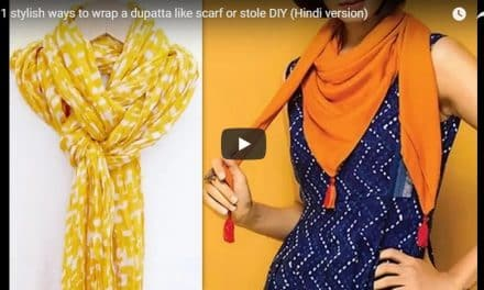 11 stylish ways to wrap a dupatta like scarf or stole