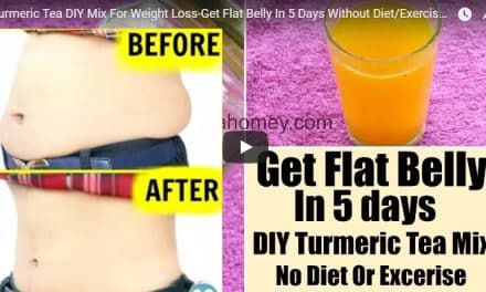 Turmeric tea DIY mix for weight loss get flat belly in 5 days