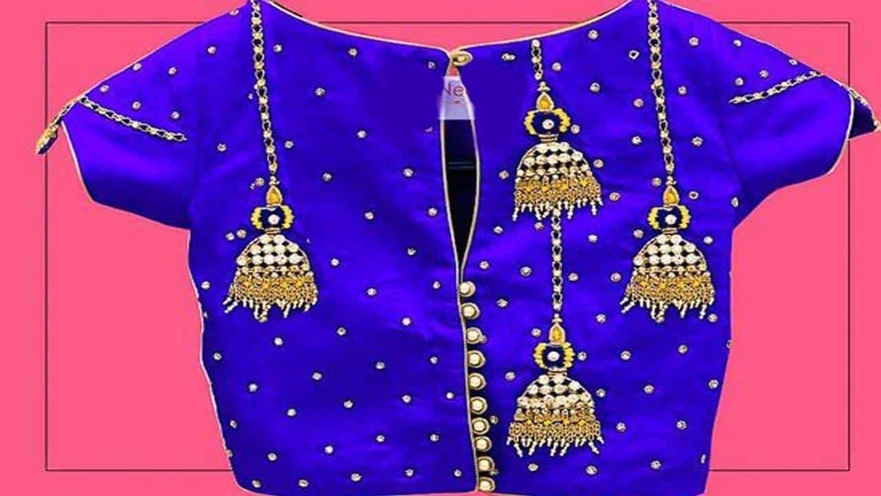 embroidery jumka design