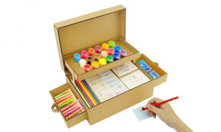 How to make pencil organizer from cardboard