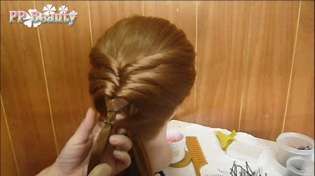 Cute and easy braid