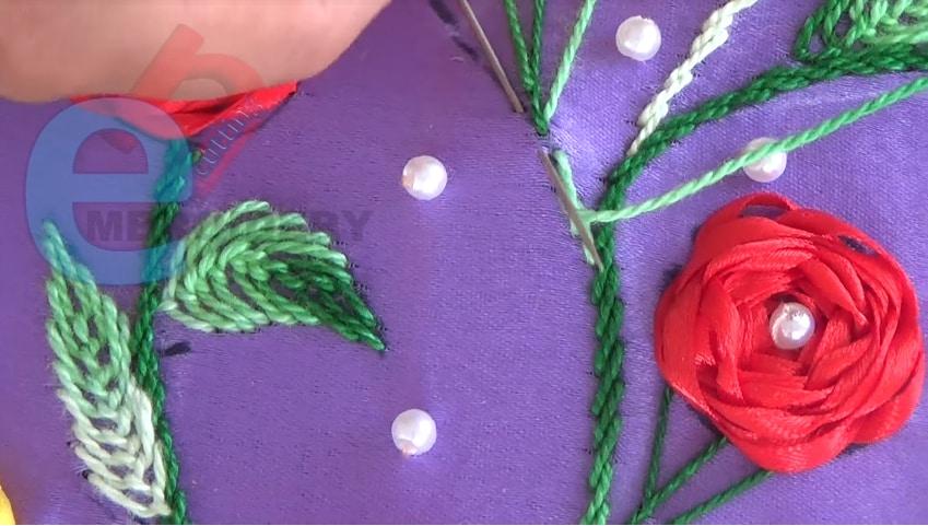 Neckline Embroidery