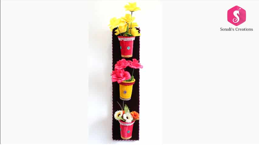Wallflowers vase