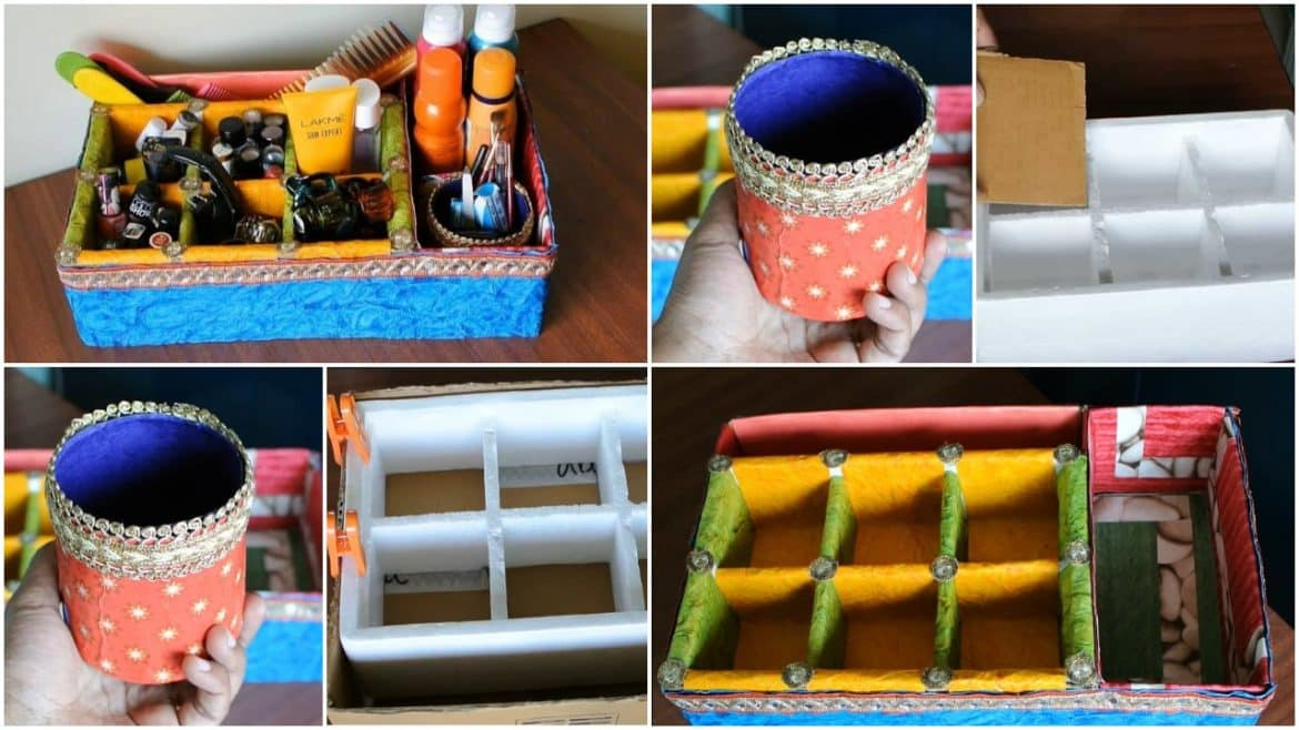 How to make accessory organizer