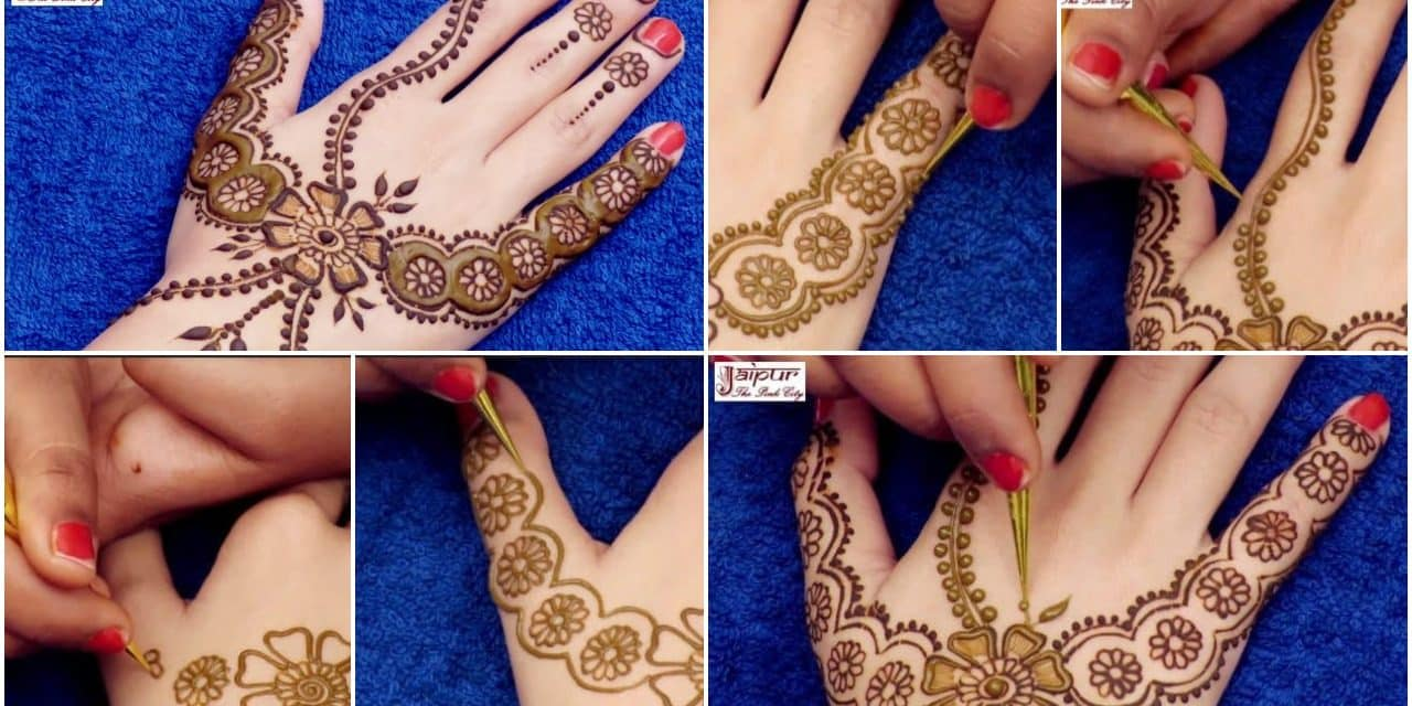 Awesome mehndi design for hands