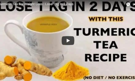 Turmeric tea for weight loss