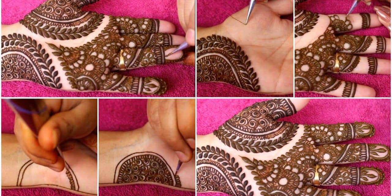 How to do simple mehndi design