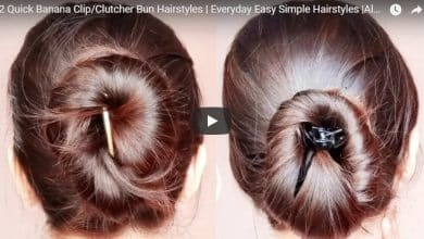 hairstyles with banana clip