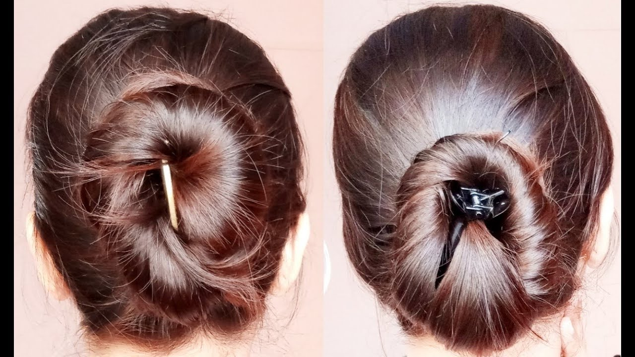 Everyday Easy Simple Hairstyles With Banana Clip Simple Craft Ideas