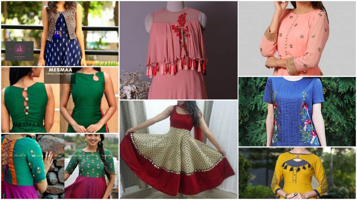 Smart and try different types of kurtis
