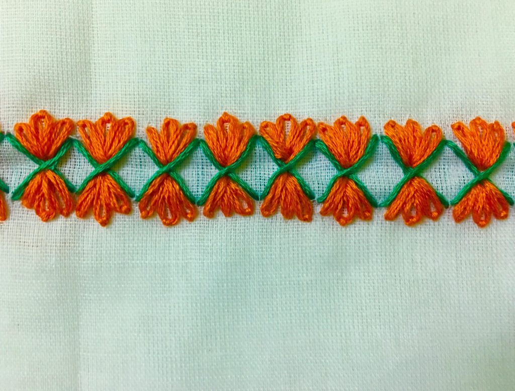 Border Hand Embroidery Designs For Beginners Simple Craft Ideas