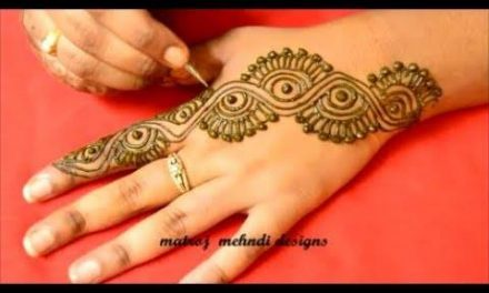 Latest easy mehndi designs for hands