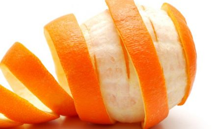 How to remove tan with orange peel