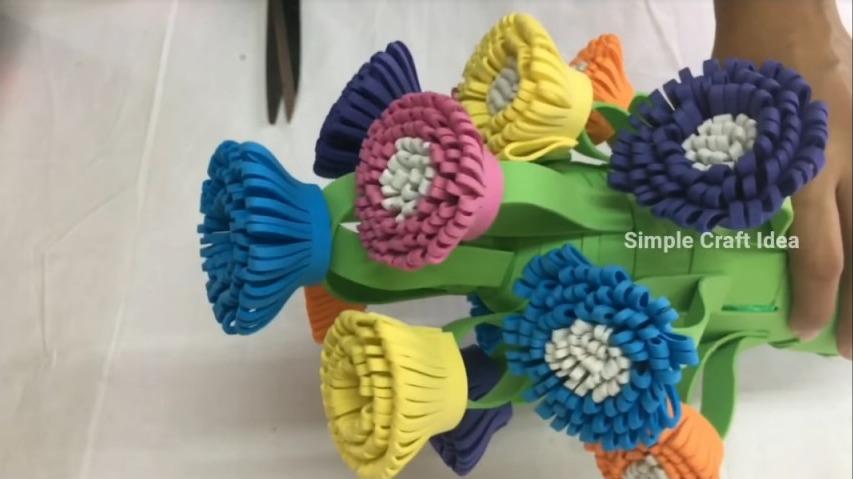 Stylish flower pot