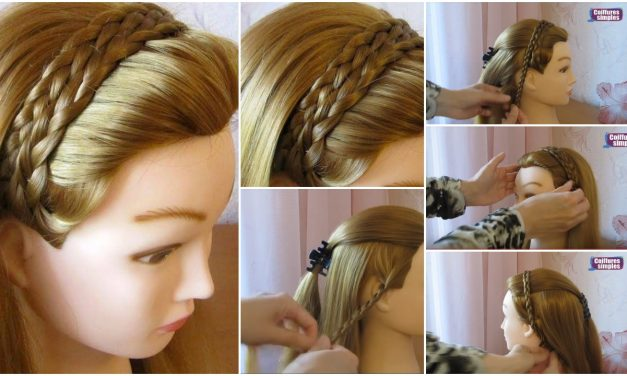 Tuto hairstyle simple and fast