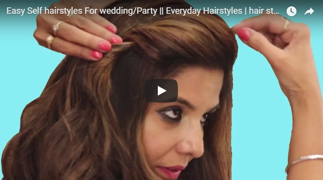 Easy self hairstyles for wedding